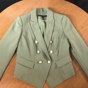 WHBM Pale green blazer